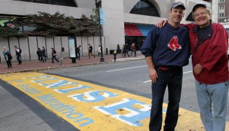 Maine Residents Celebrate World Champion Boston Red Sox, a MLB Franchise!