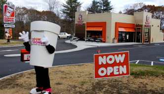 Dunkin' Donuts Franchise Owner Opens New Shop in Farmingdale, Maine